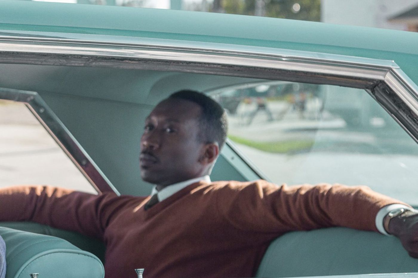 A virtuoso turn by Mahershala Ali as a virtuoso in 'Green Book. '