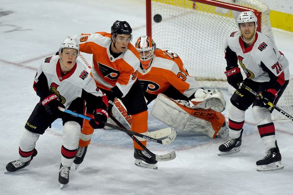 Flyers-Senators observations: Philly avoids looking ahead and takes care of business