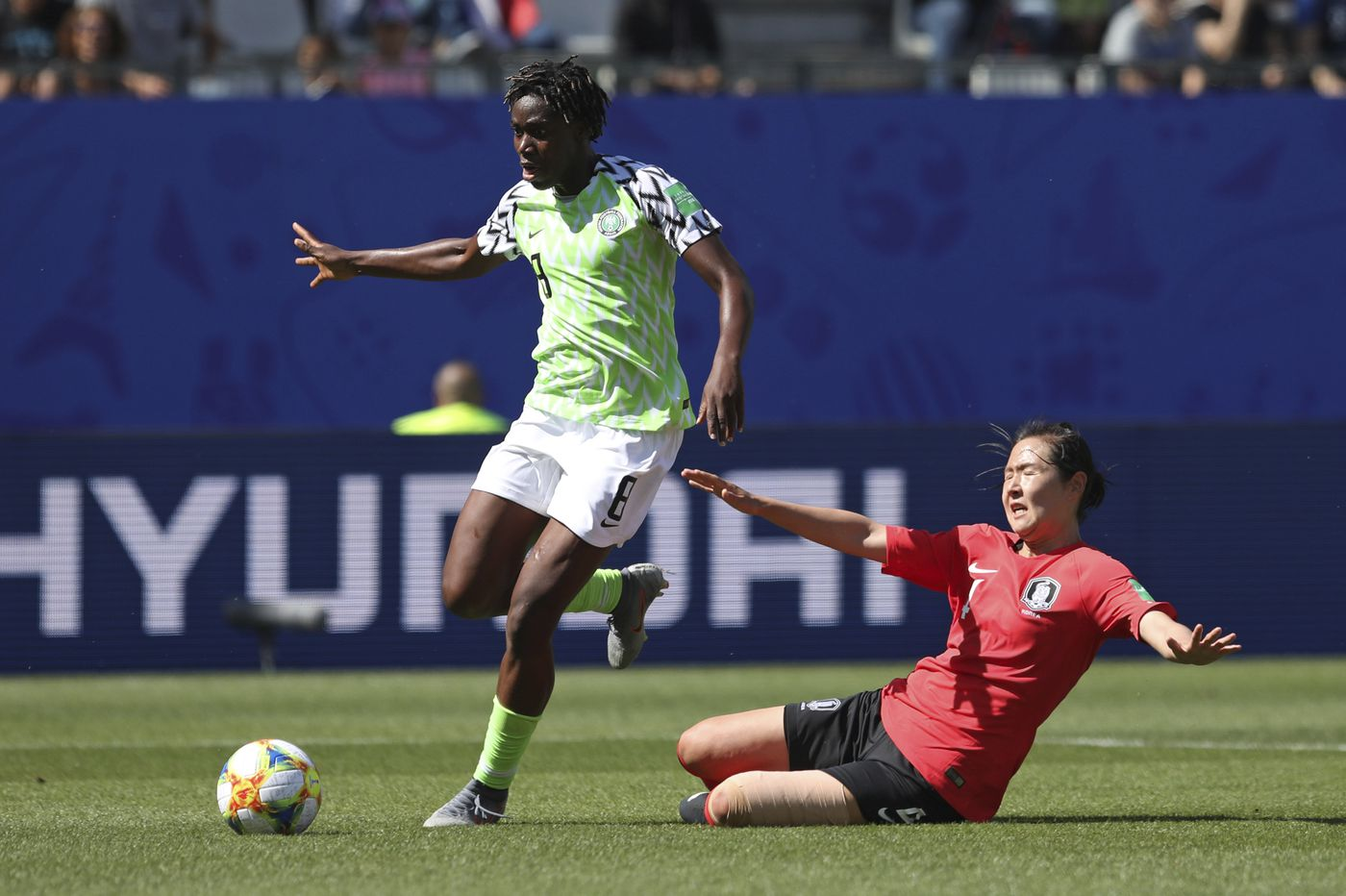 Nigeria beats South Korea, 2-0, for first Women's World Cup win since 2011