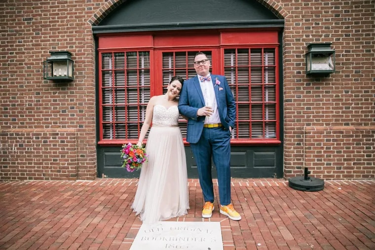 Molly Eichel, who graduated from NYU, married bartender Jesse Cornell in May 2017.