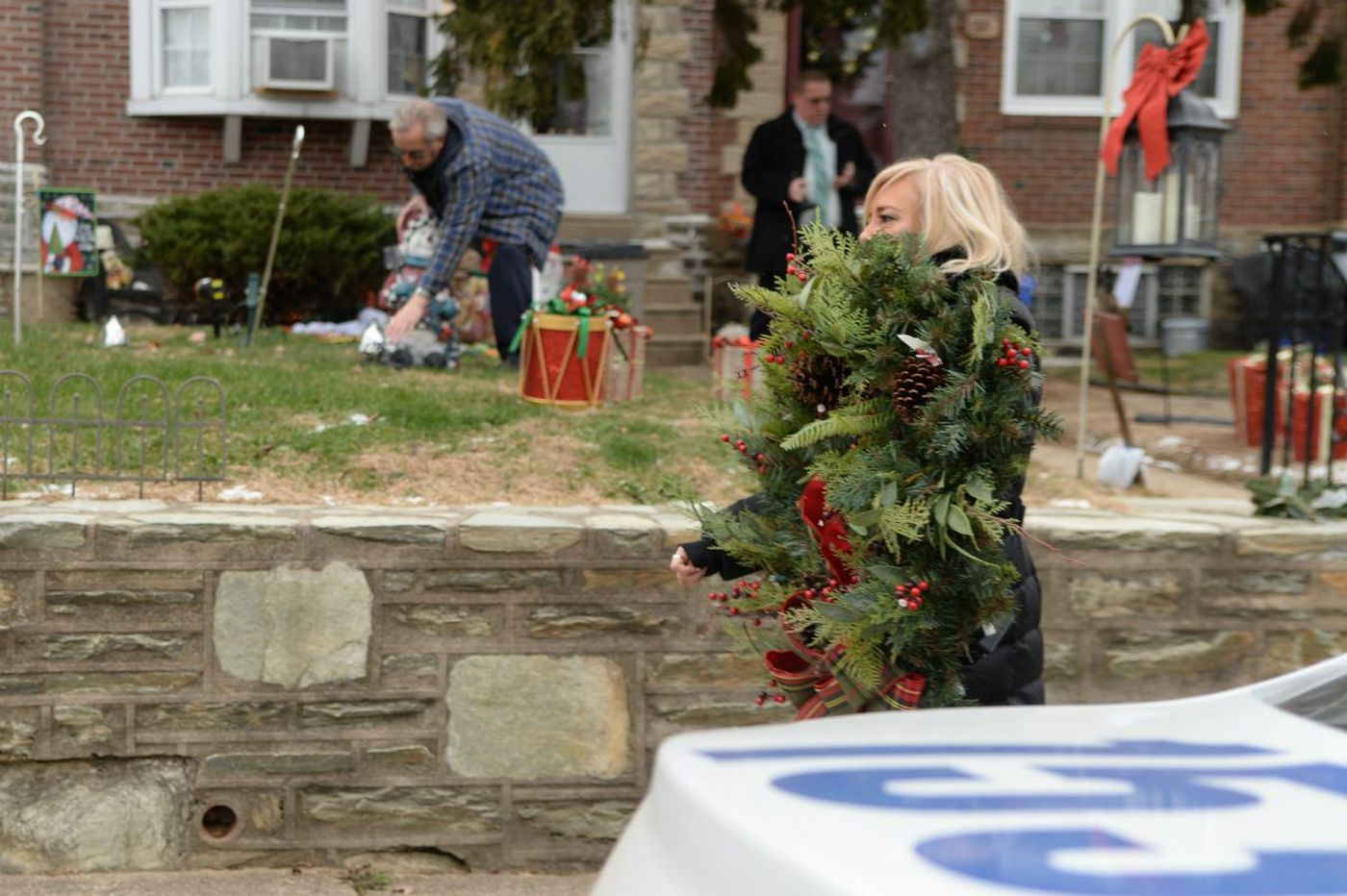 Cops: Mayfair woman stole hundreds of neighbors' holiday decorations - wreaths, lights, lawn ornaments