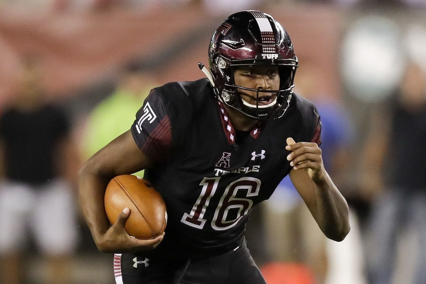 Temple backup quarterback Todd Centeio could be a (dual) threat off the bench