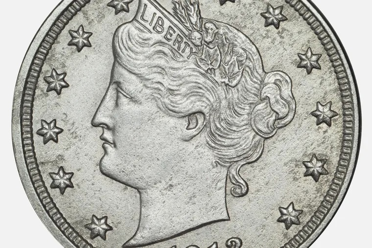 The famous Liberty Head Nickel