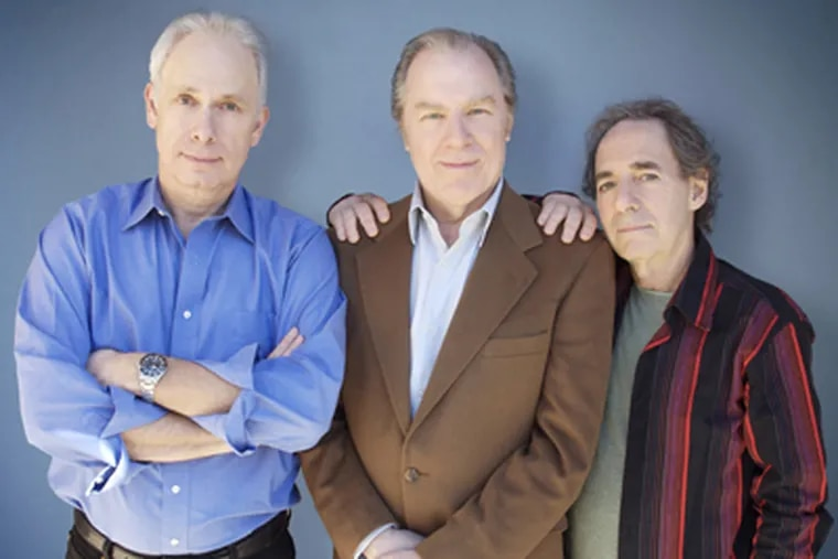 """The """"Unwigged"""" tour stars (from left) Christopher Guest, Michael McKean and Harry Shearer. It stops at the Keswick Theatre in Glenside on Thursday at 8 p.m."""