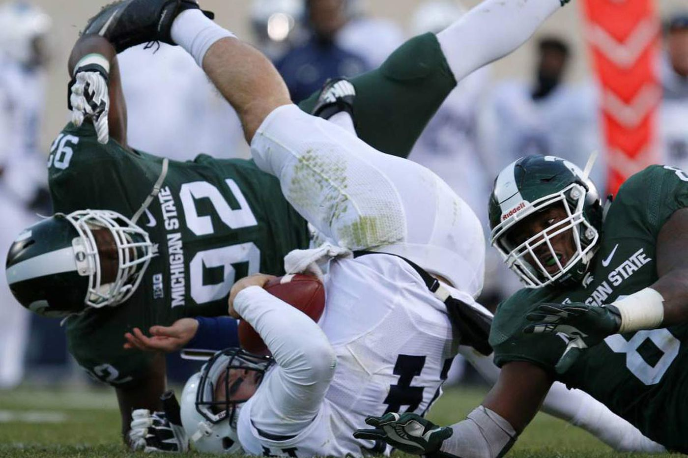 Penn State can't stop Michigan State in second half of 55-16 loss