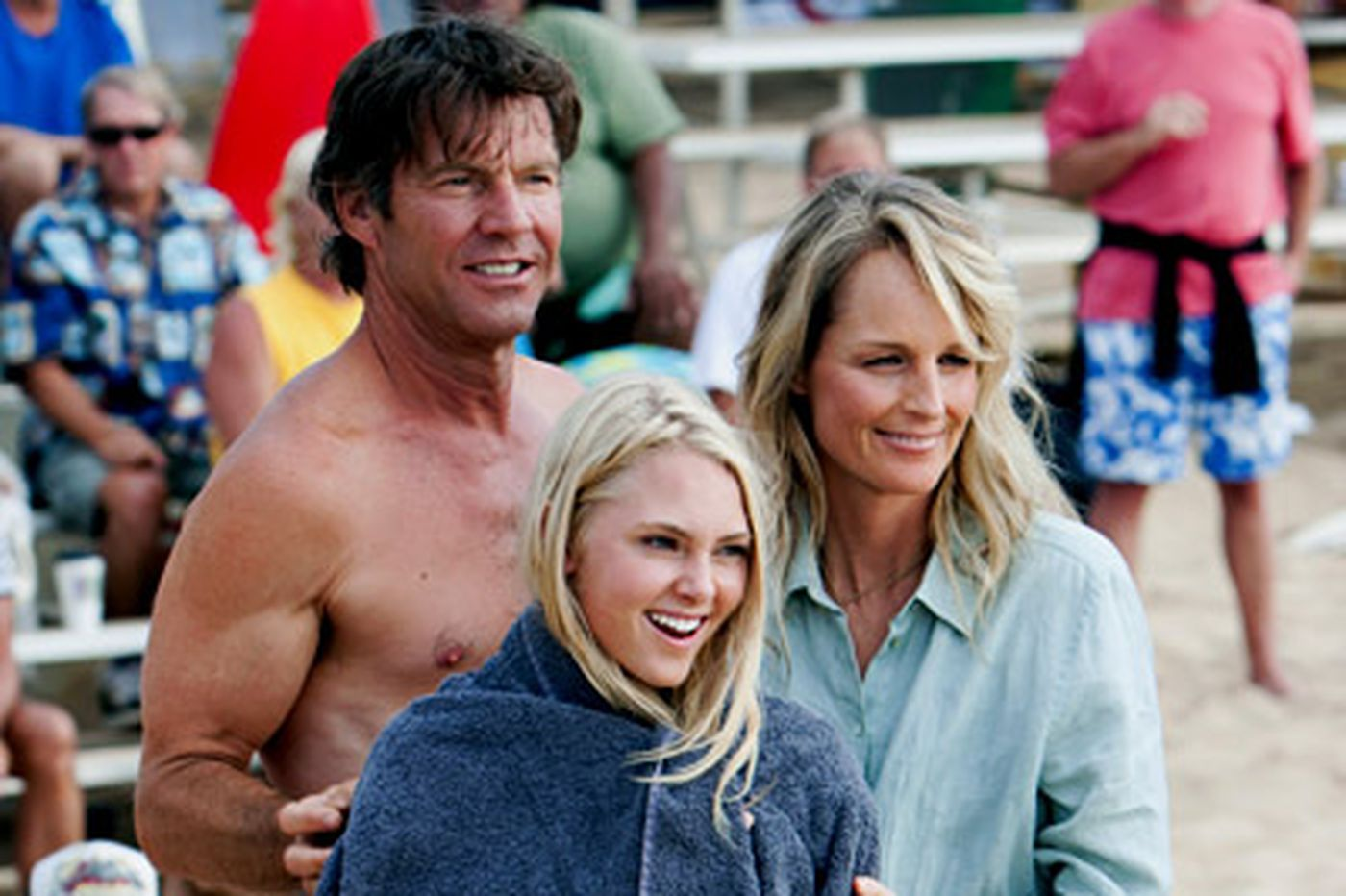Fateful day of faith-filled surfer tests her resolve - viewers', too