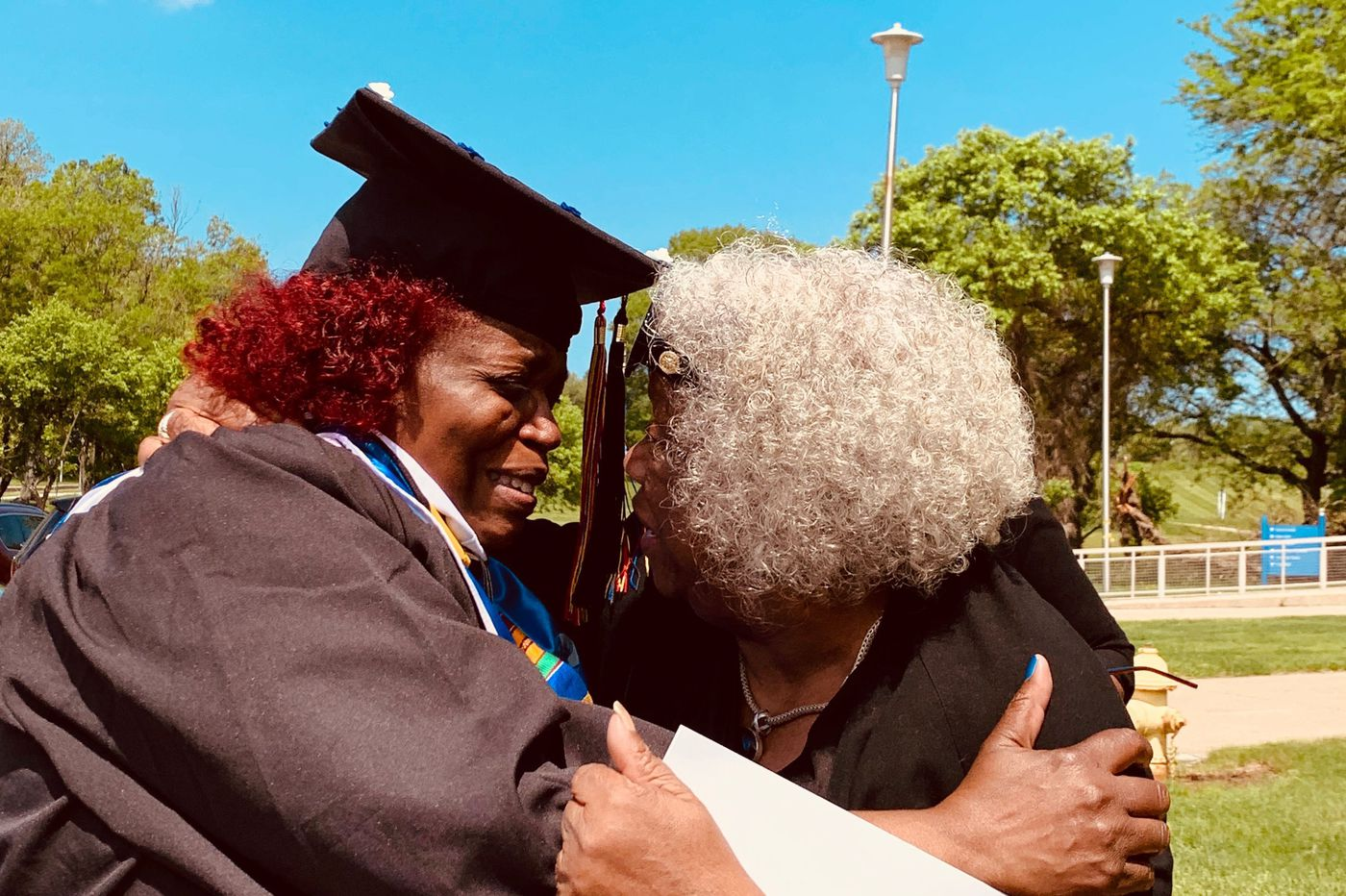 This 60-year-old Philly grandmother lived in the dorms at Cheyney. Now she's the Class of 2019 valedictorian.