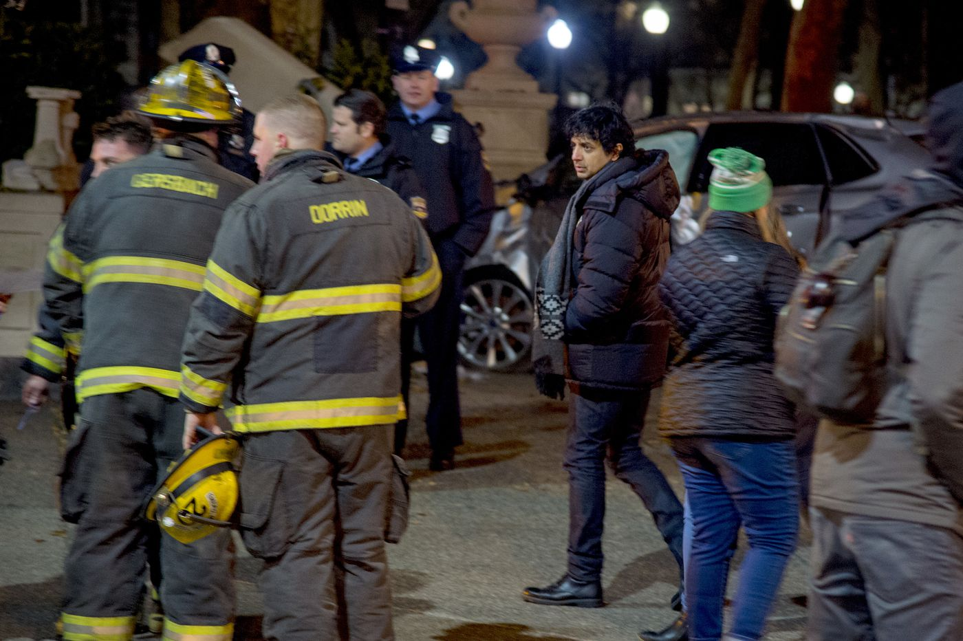 M. Night Shyamalan spotted filming new Apple series in Center City