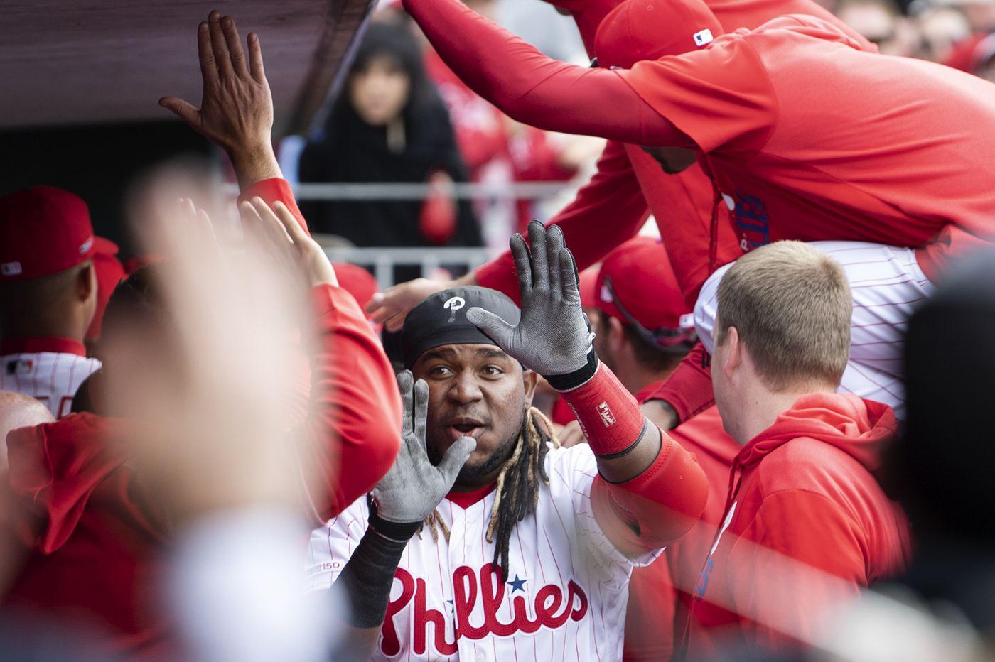 Phillies' 'Rebuild Survivors' deliver big in opening-day victory | Scott Lauber
