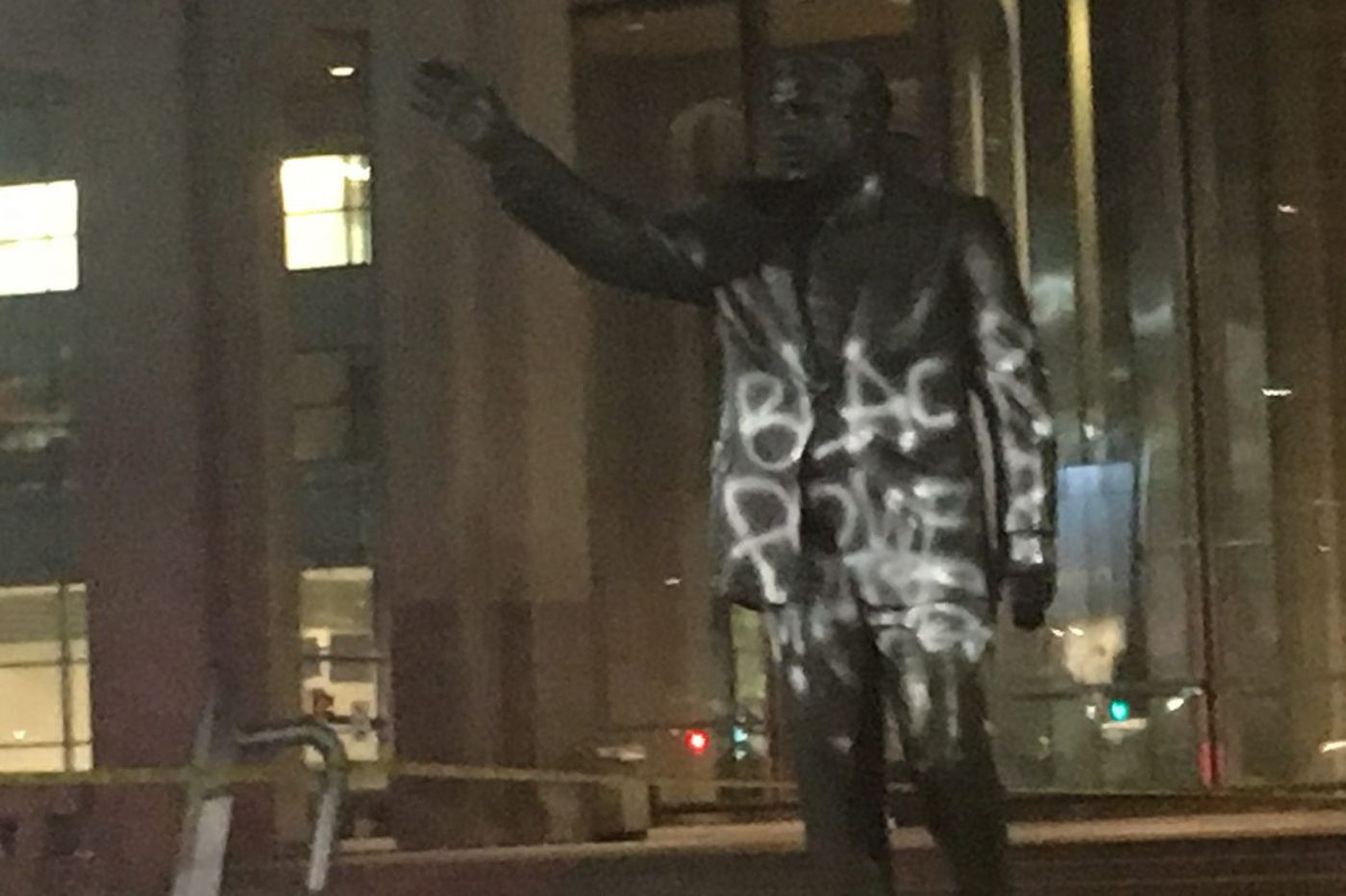 Cops: Activist who ran for Philly mayor in 2011 spray-painted Rizzo statue