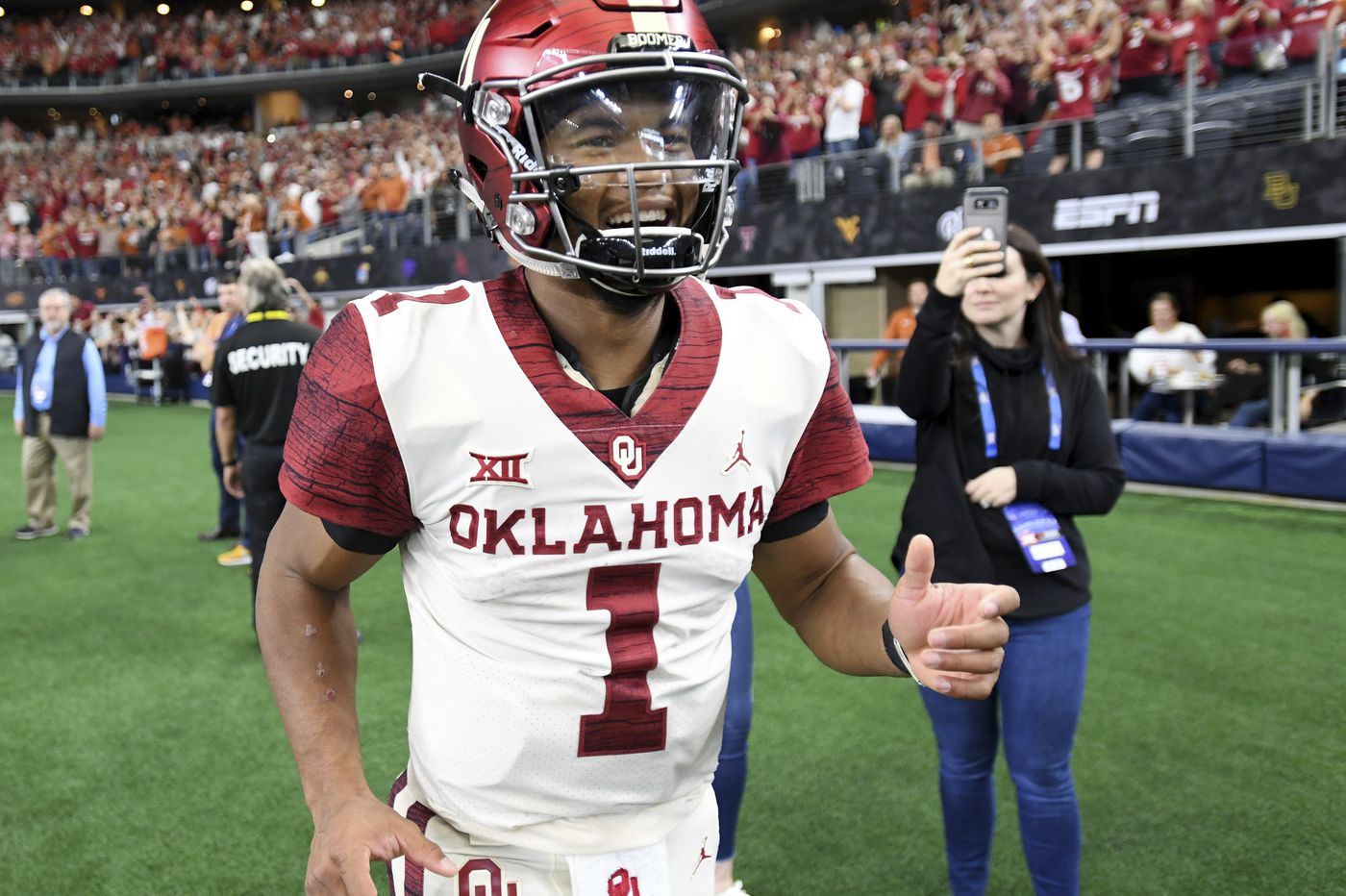 Oklahoma's Game-Sealing Touchdown Came on An Illegal Formation