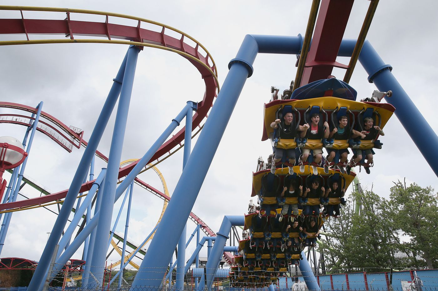 From thrilling to nauseating: We rode all 12 roller-coasters at Six Flags to find out which were the best
