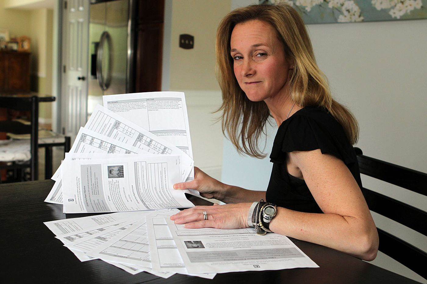 Many parents give new mind-boggling report cards an F