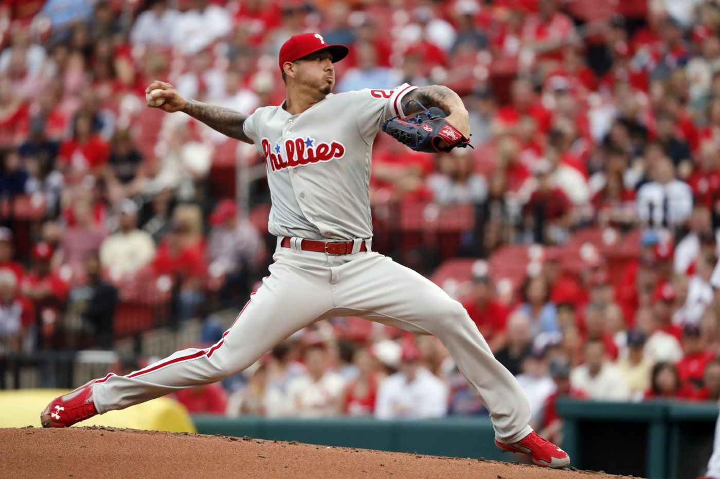 Phillies' Vince Velasquez uses music to calm himself on the mound