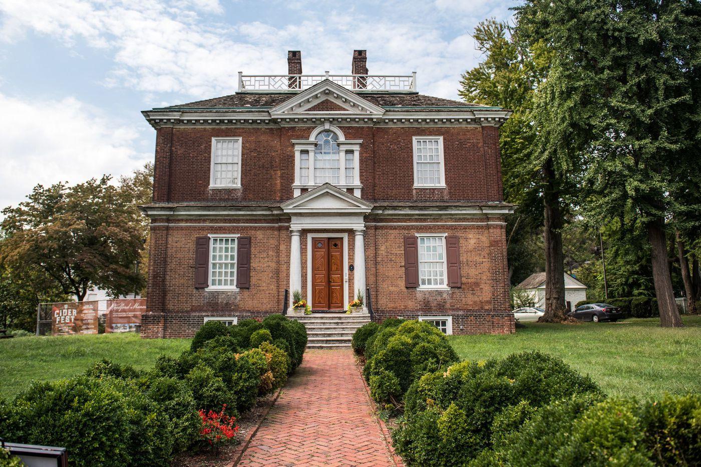 Caretaker finds body behind Fairmount Park's Woodford Mansion