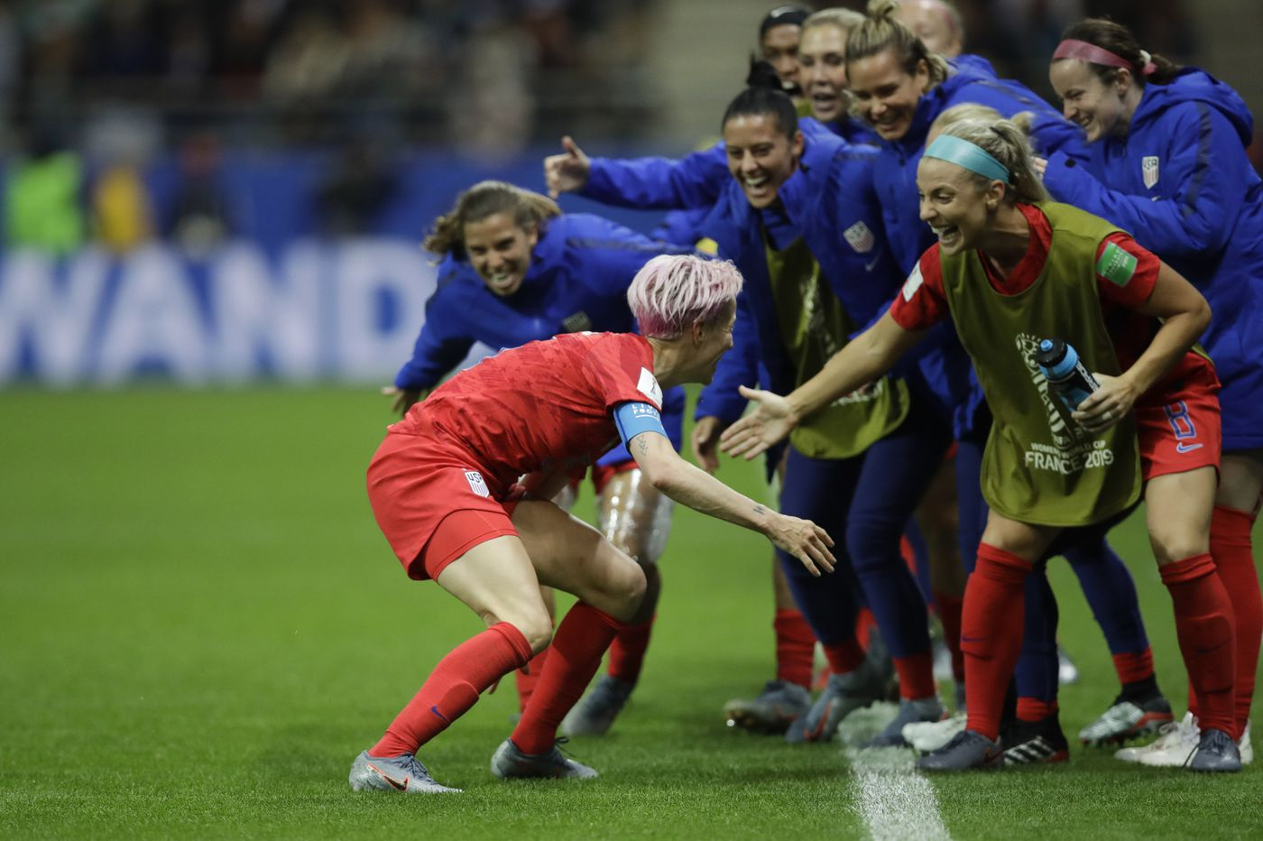USWNT catches heat for World Cup goal celebrations, and fires back