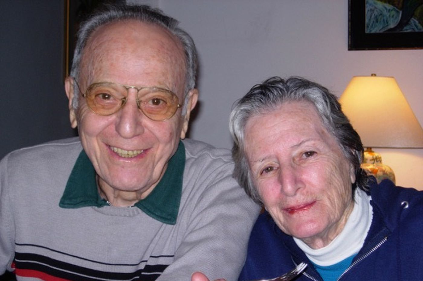After a 65-year love story, Milton and Naomi Dank die three days apart