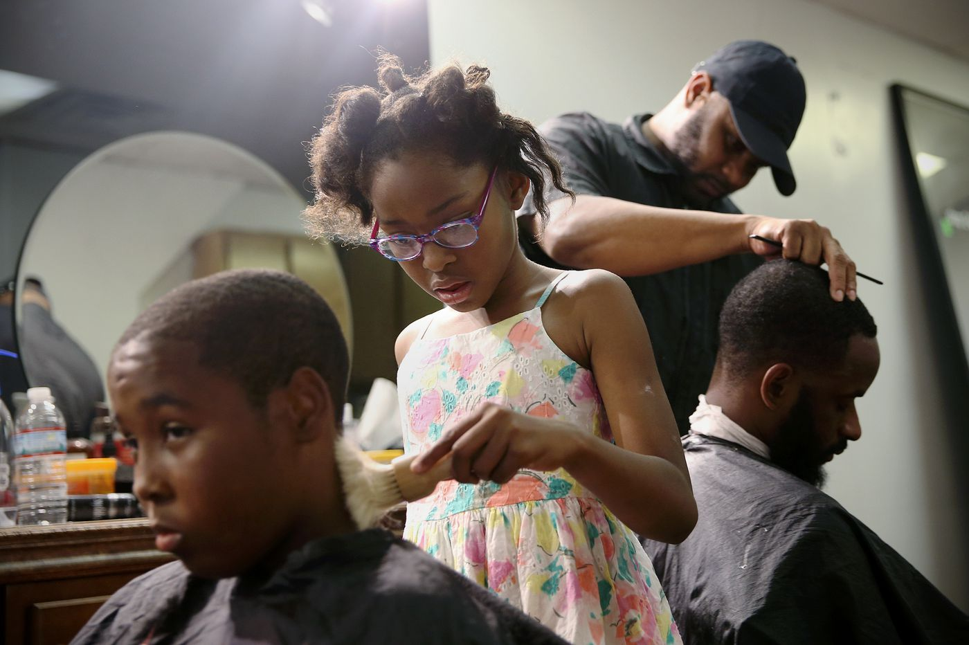 'World's Youngest Barber' is an 8-year-old West Philly girl with major moxie | We The People