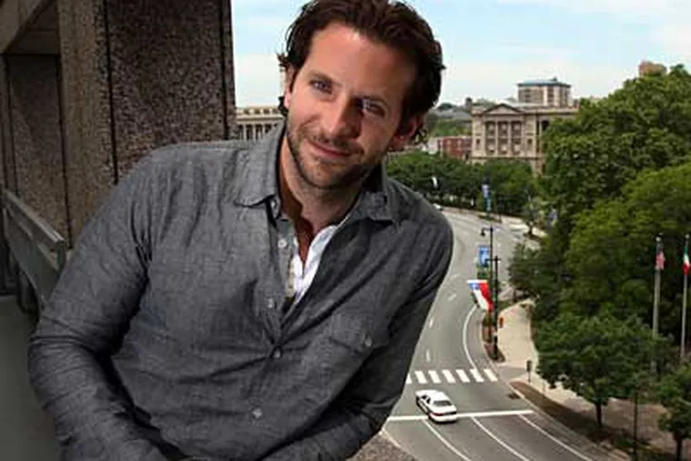 Bradley Cooper was a movie buff growing up in the Abington/Jenkintown area. (LAURENCE KESTERSON / Staff Photographer)