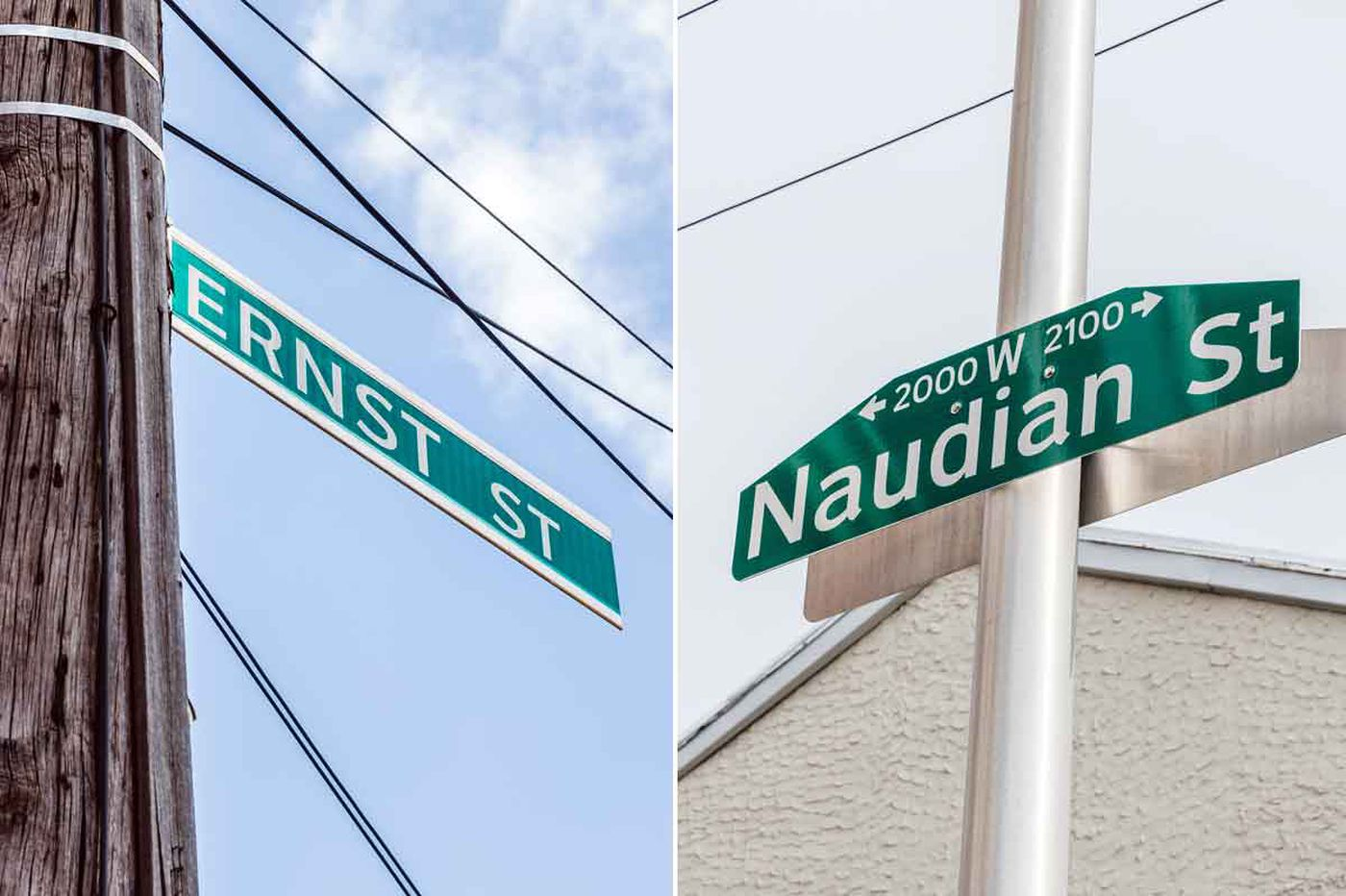 Misspelled street signs in Philly and how they can happen