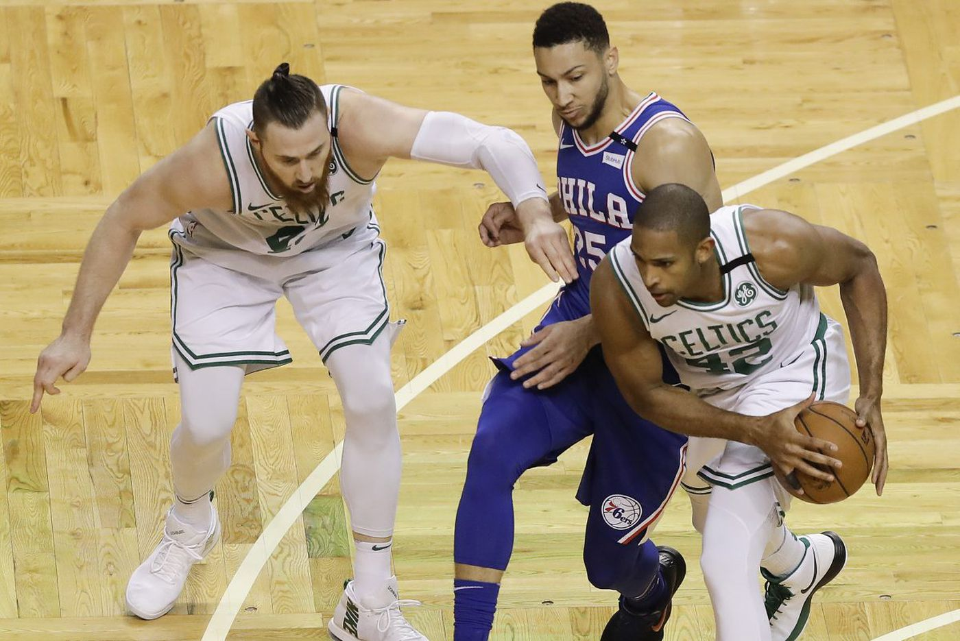 Sixers blow 22-point lead, lose to Celtics to fall behind 2-0 in NBA playoffs series