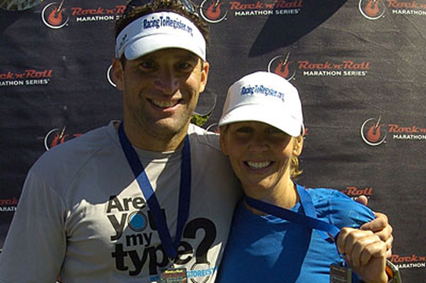 Couple are running Broad Street for life or death