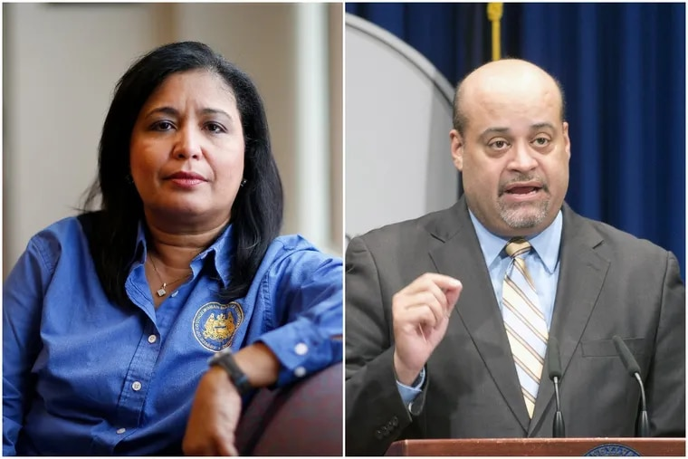 Maria Quinones-Sanchez is calling on law enforcement to investigate results of the 2015 primary headed into the May 21 primary where she will face state Rep. Angel Cruz.