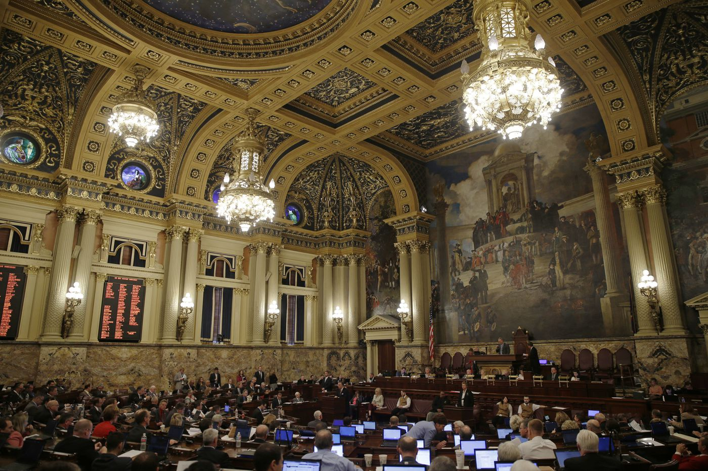 With Pa. House, Senate gone, big issues remain unresolved