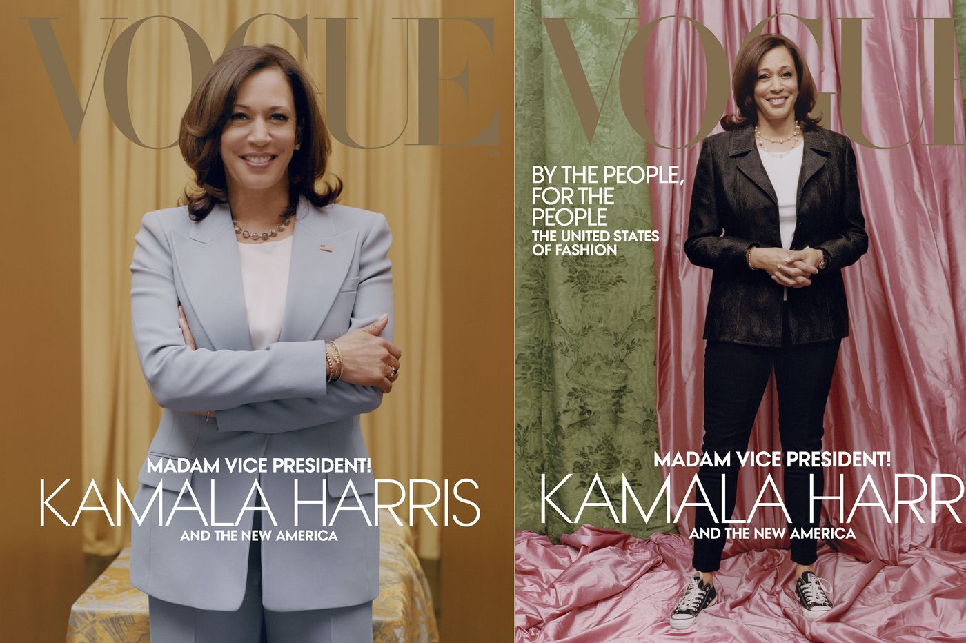 Are we making Kamala Harris' controversial Vogue cover all about us? | Elizabeth Wellington