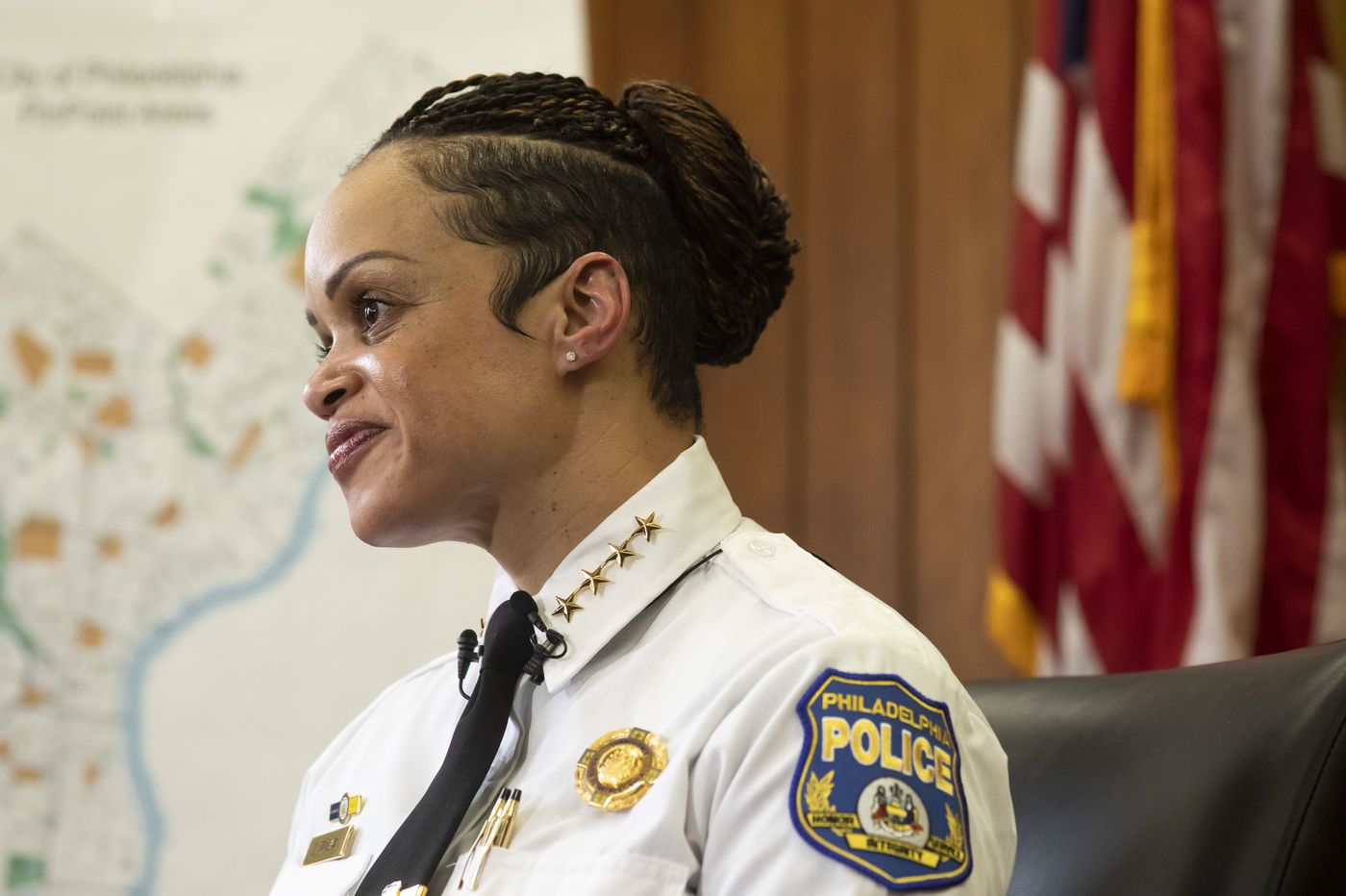 New Philly Police Commissioner Danielle Outlaw is already making changes — starting with her fingernails