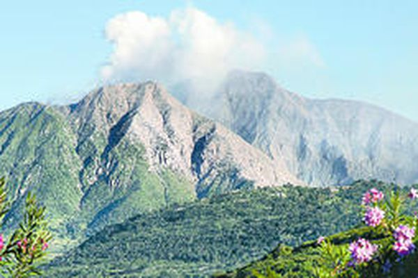On lovely Montserrat, living with a volcano