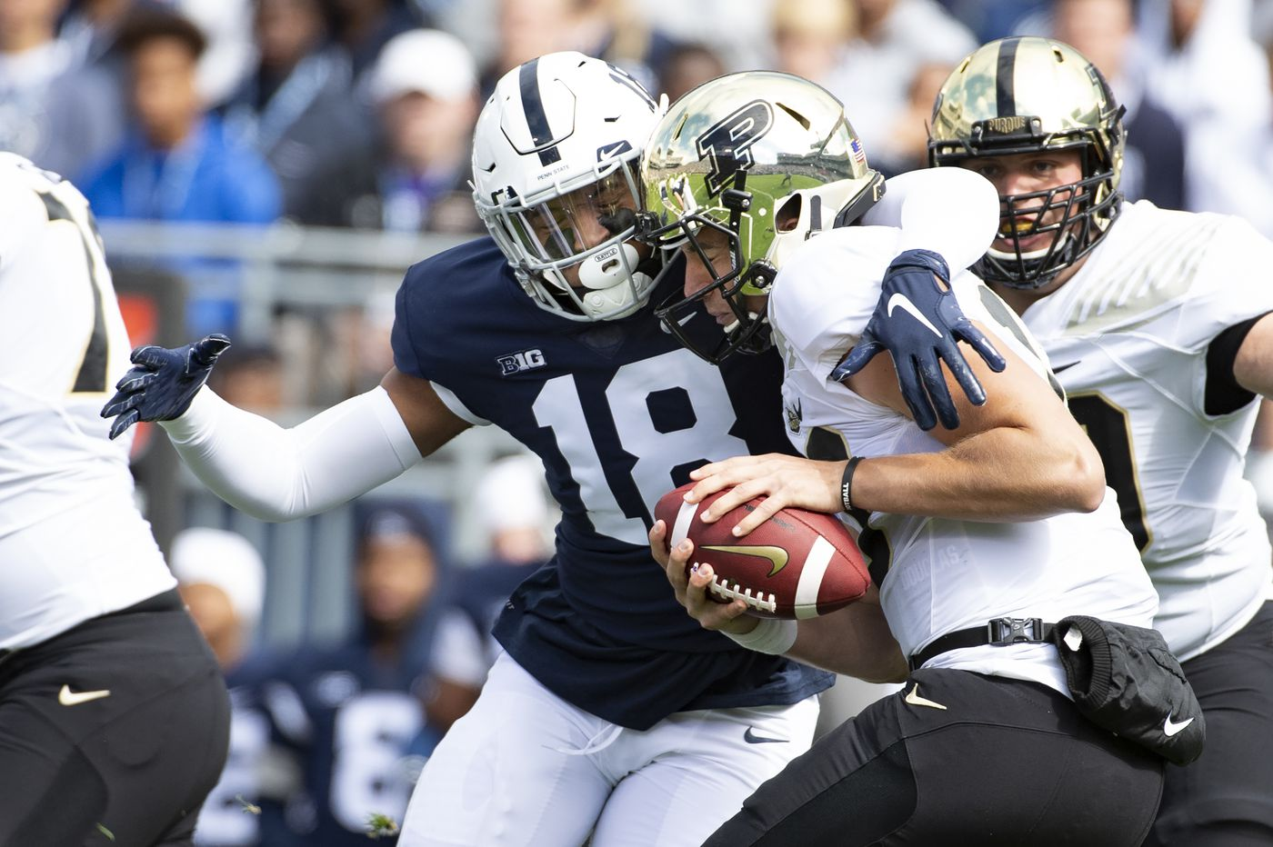 Imhotep Charter grad Shaka Toney happy and humbled to be voted a Penn State captain