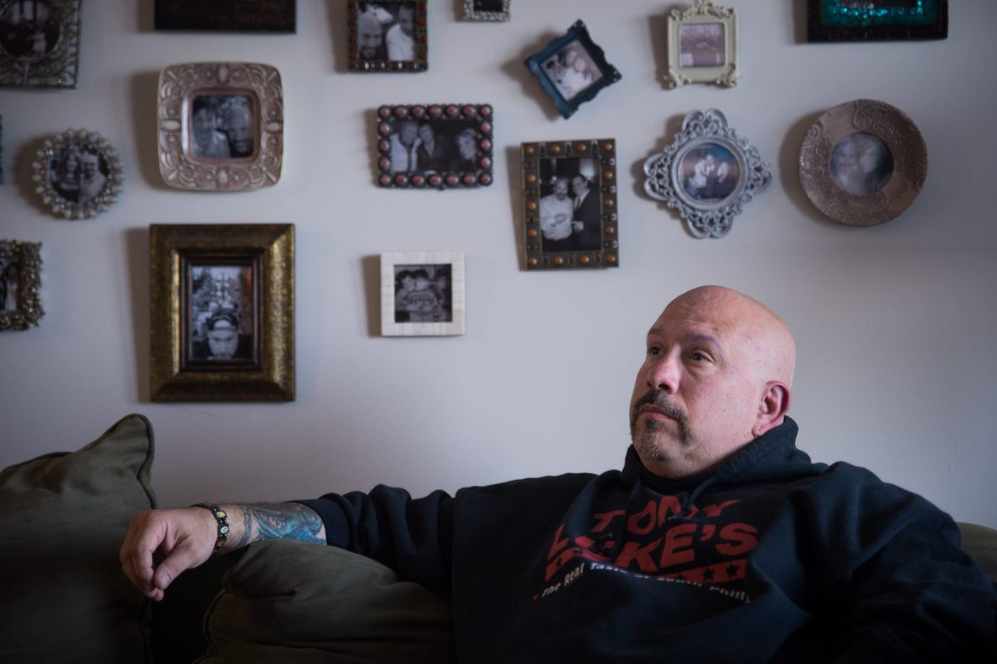 Tony Luke Jr.'s message to families of opioid-addicted people: Don't be ashamed
