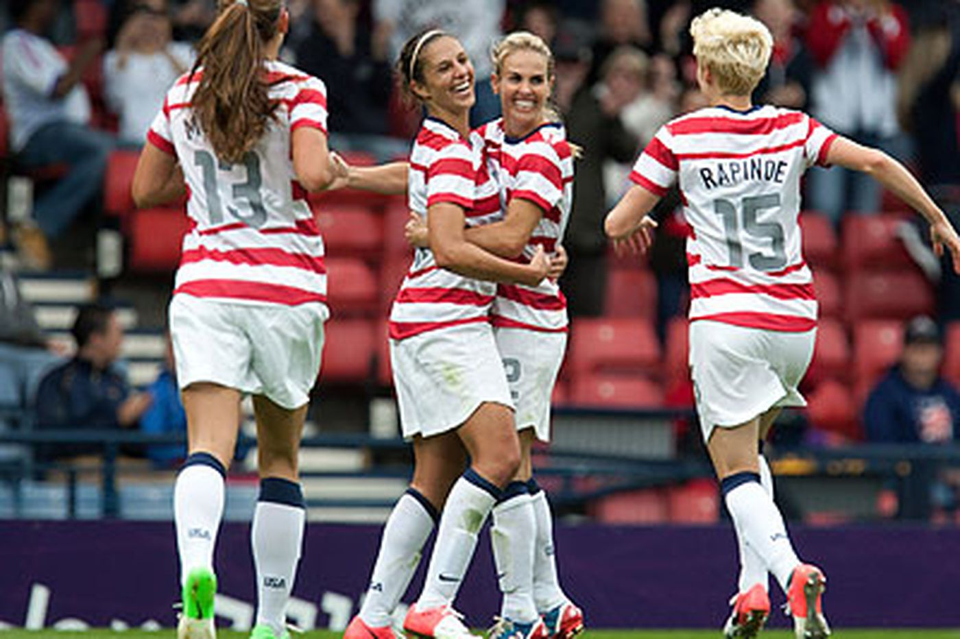 Carli Lloyd's Olympics Journal: U.S. women's soccer team perfect in group stage play so far