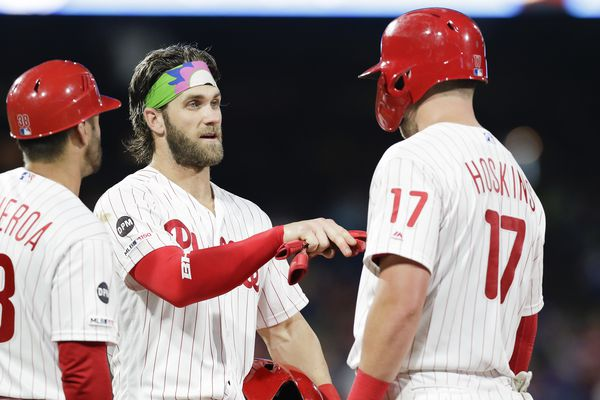 Gabe Kapler, Rhys Hoskins confident that track record of Phillies' hitters will lead to more consistent offense down the stretch