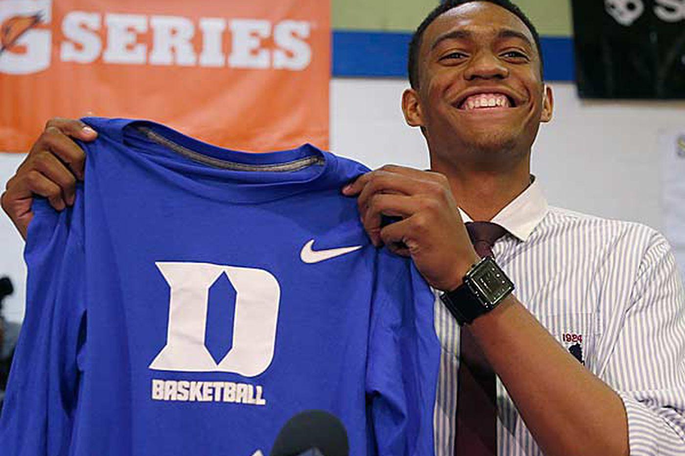 College Basketball: Top prospect Parker chooses Duke