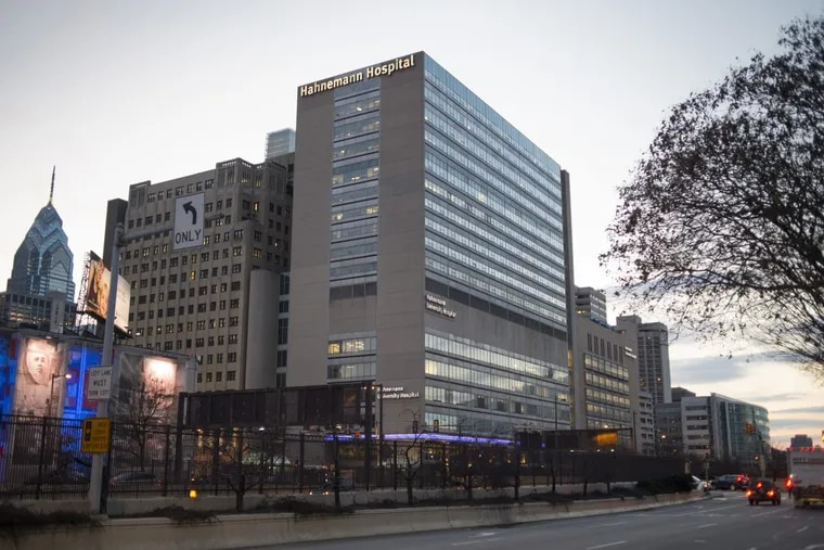The new owners of Hahnemann University Hospital announced a management shake-up at the facility they bought last month as part of a $170 million deal that included St. Christopher's Hospital for Children and related businesses.