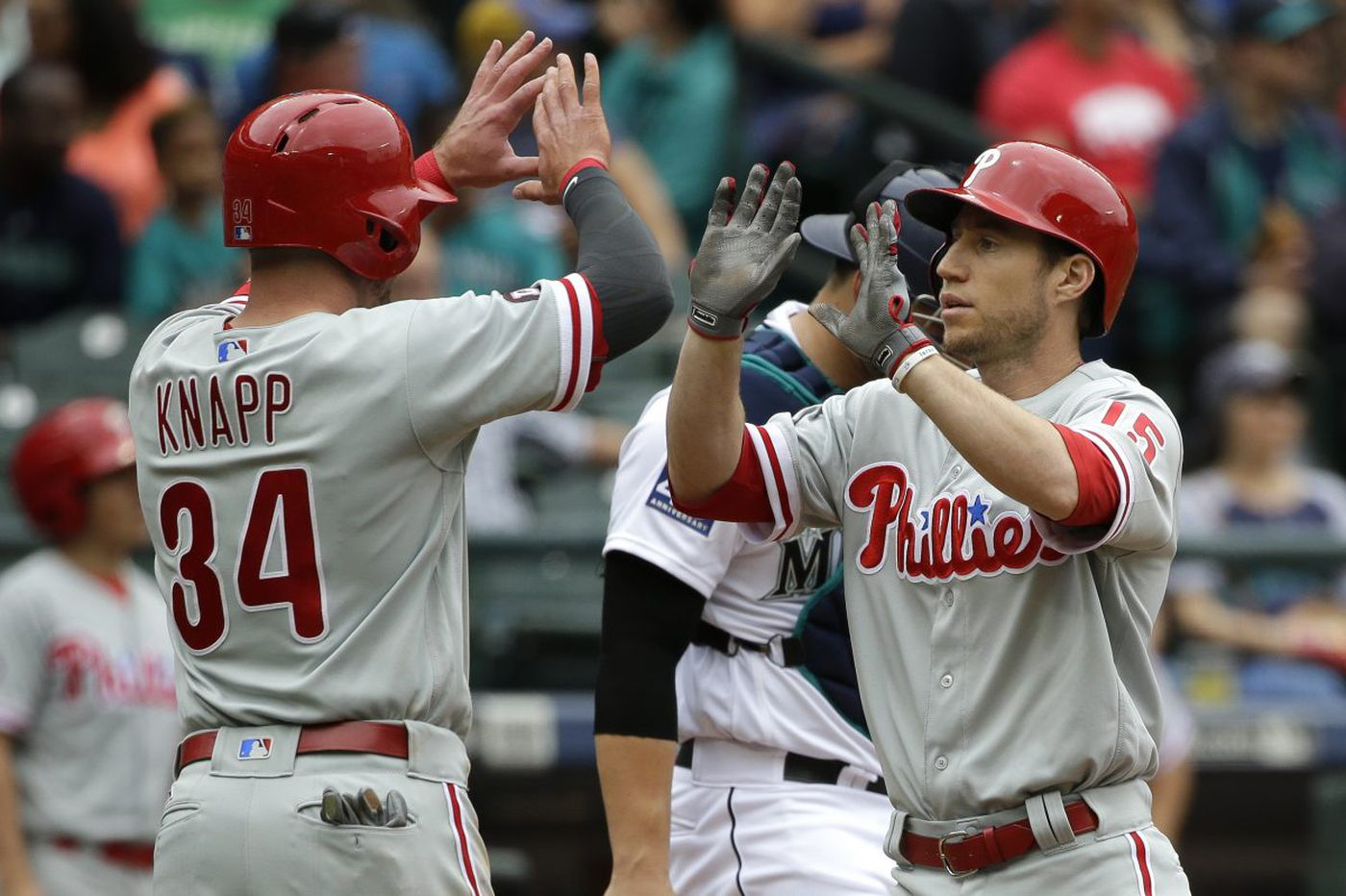 Phillies win second straight since Freddy Galvis 'lit a fire'