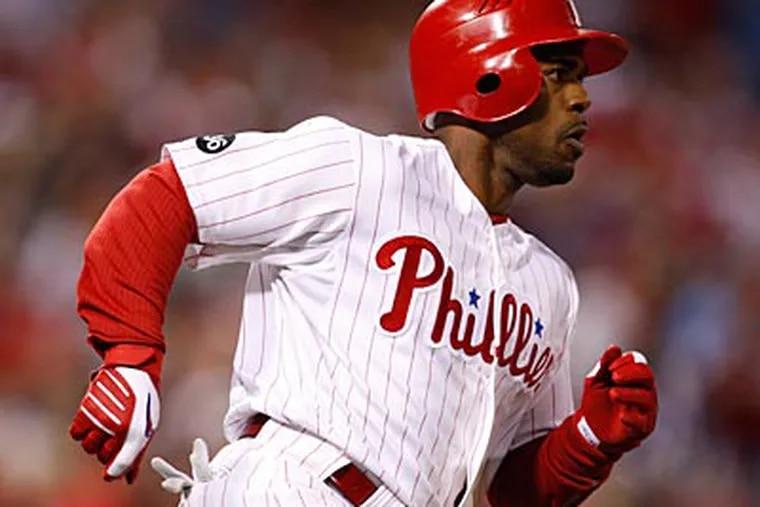 Can Phillies shortstop Jimmy Rollins rebound in 2011? (David Maialetti / Staff Photographer)