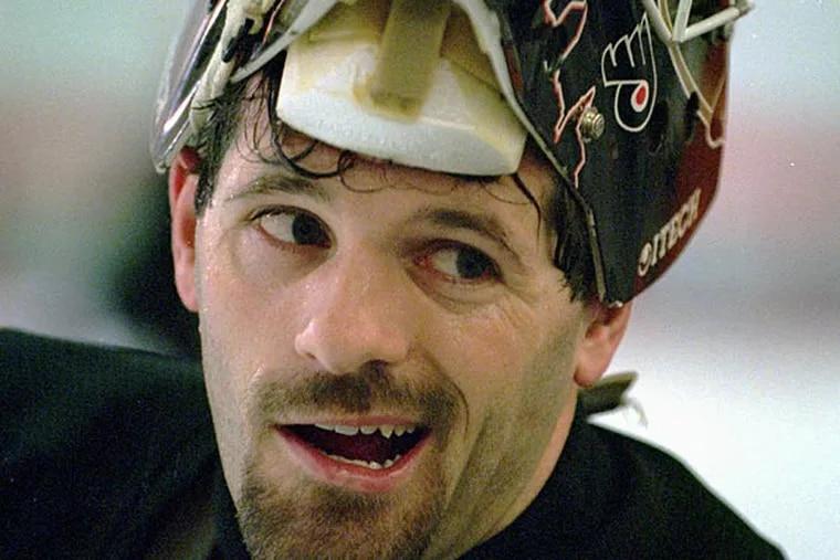 Former Flyers goalie Ron Hextall. (George Widman/AP file photo)