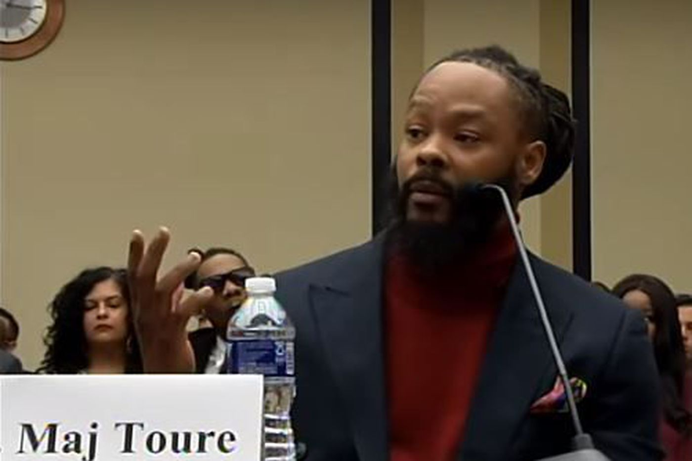 Maj Toure exits the Libertarian Party in controversy after a failed bid for City Council | Clout