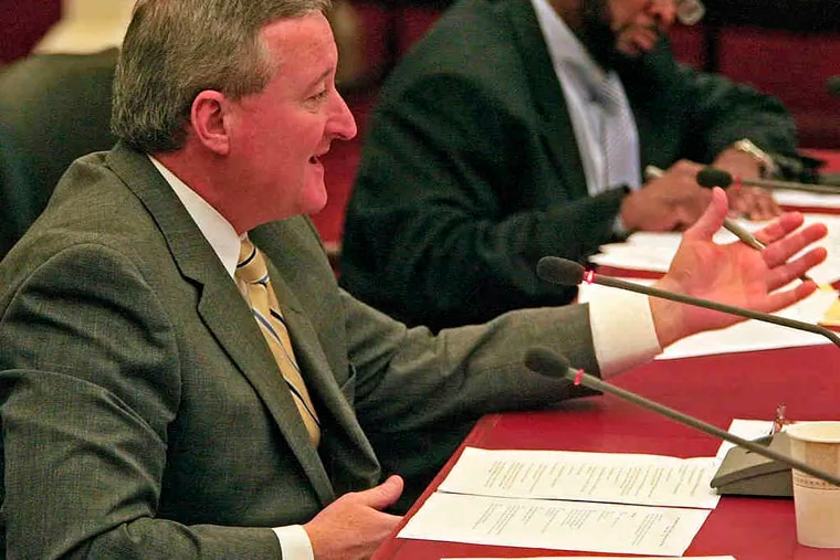 At City Council last week, there was general collegiality among members, including Jim Kenney. Testimony on a tax bill was intelligent and reasoned.