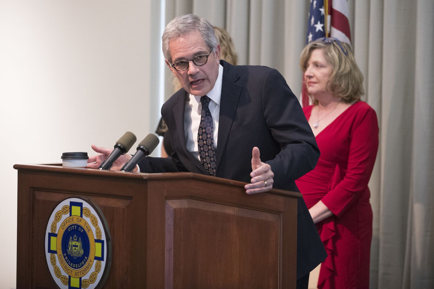 DA Larry Krasner announces theft charges against North Philly tow-truck operator