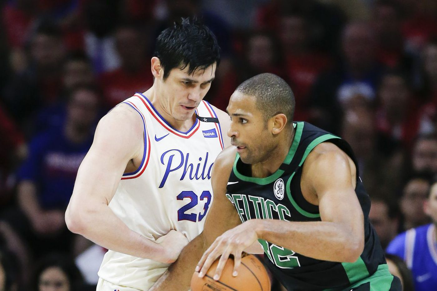 Look for the Celtics to get Al Horford more shots in Game 5