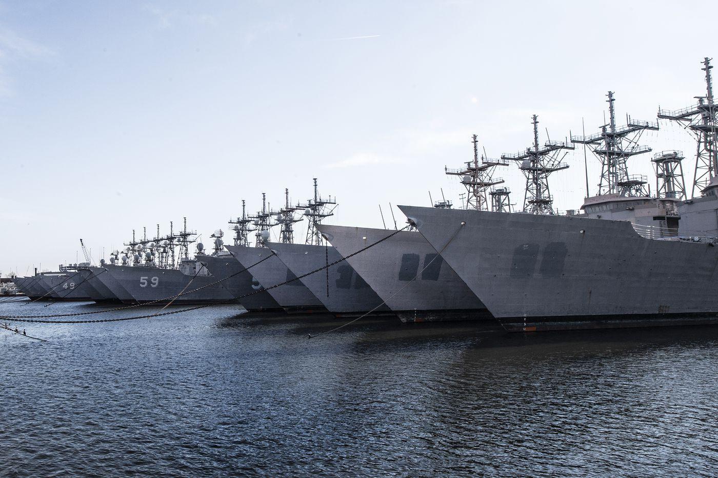 Philadelphia's 'mothball fleet': Uncertain future awaits ships docked at Navy Yard
