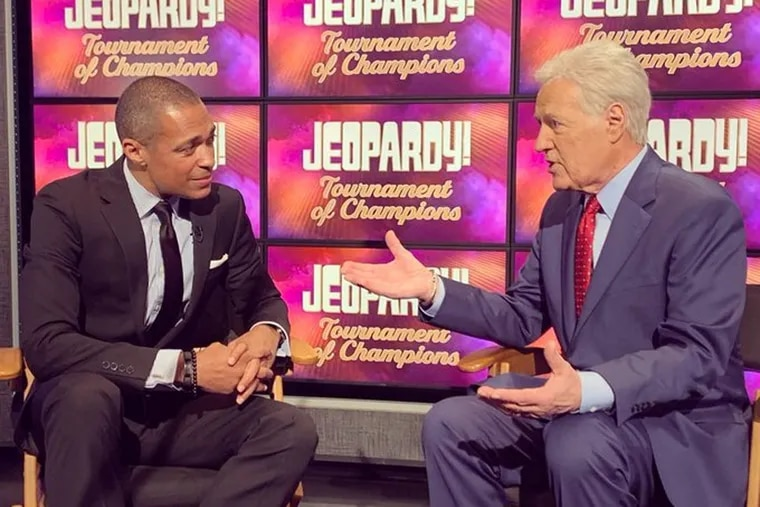 """""""Jeopardy!"""" host Alex Trebek reveals a setback in his fight against cancer to """"Good Morning, America"""" correspondent T.J. Holmes."""