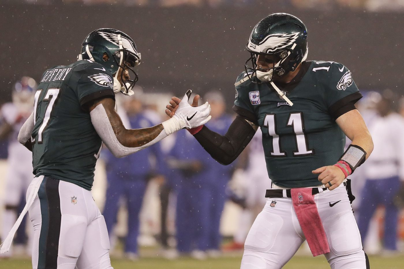 Targeting Alshon Jeffery, punting on the opening drive, and playing time vs. Giants | Early Birds