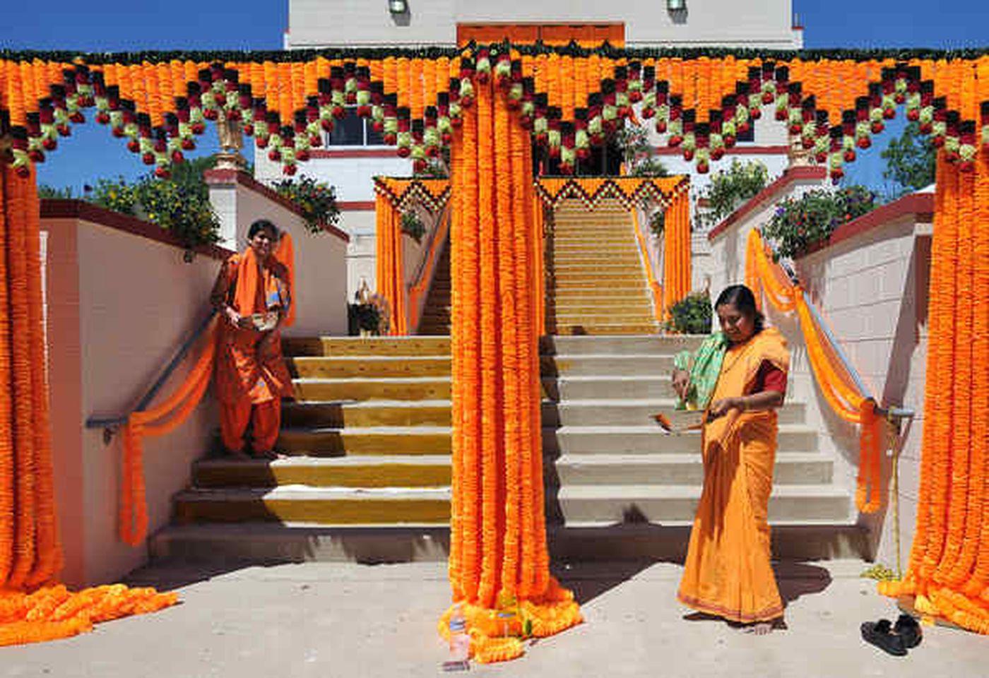Rare ceremony consecrating new Hindu temple in Bucks