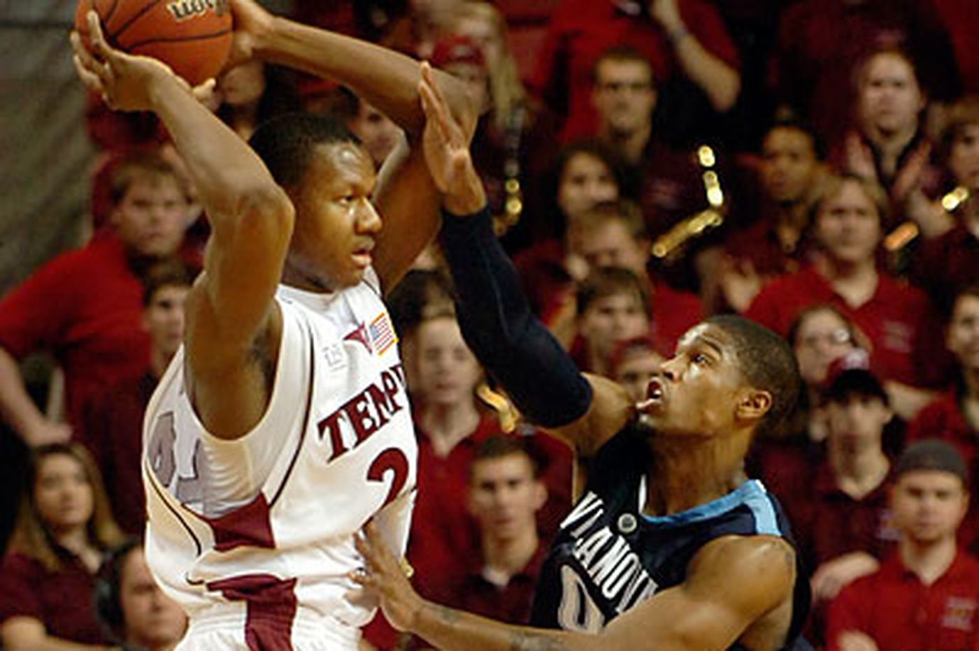 Temple's Fernandez shoots down No. 3 Villanova