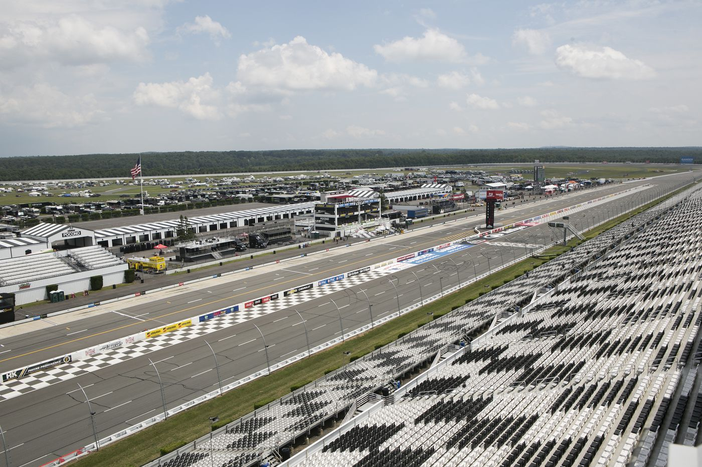 NASCAR and organic food make a run together in the Poconos